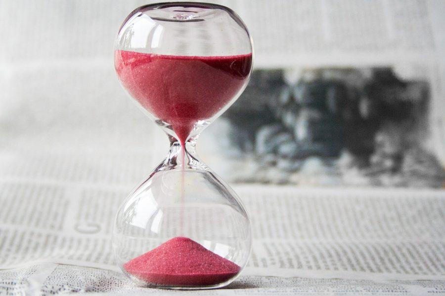Imagem de tempo para marketing digital eleitoral